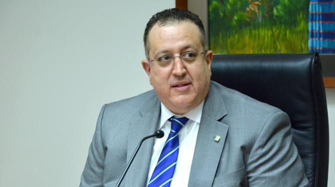 Magín Díaz, director de DGII