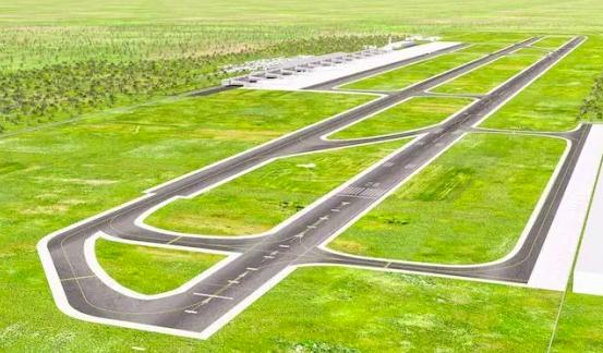 Maqueta del Aeropuerto de Bávaro