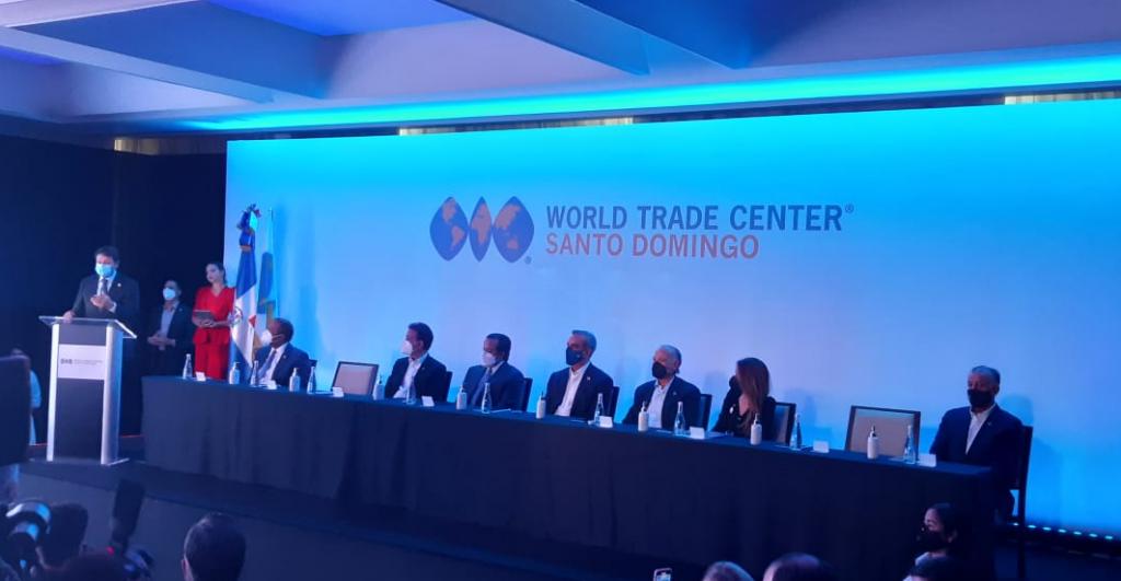 Actividad de World Trade Center Santo Domingo