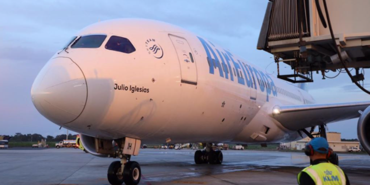 Air Europa vuelos a Santo Domingo
