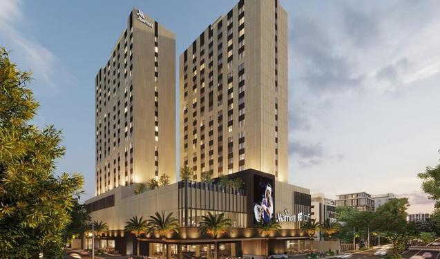 Maqueta hotel Latitud 18