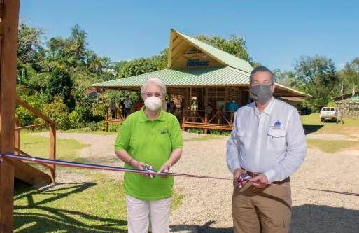 Centro de visitantes en Los Haitises