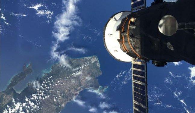 Imagen de República Dominicana desde el espacio