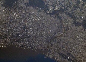 Santo Domingo desde el espacio